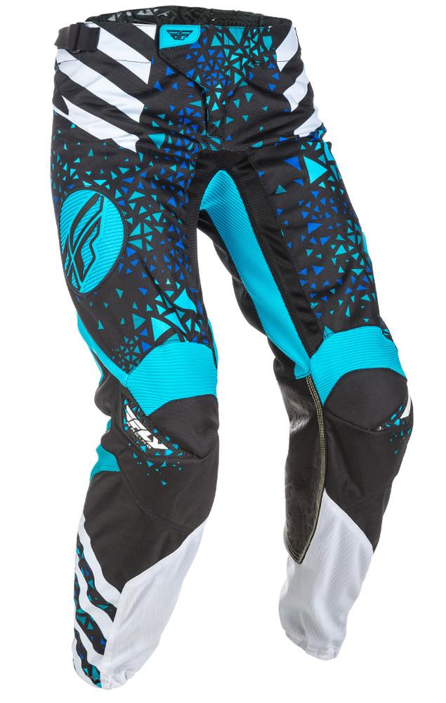 Fly Racing Mens Kinetic Outlaw Pants Black//Hi-Vis Size 26 371-53026